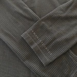 Men's Armani exchange Sheer Ribbed L/S shirt